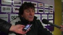 L'analyse d'après match avec l'entraîneur du FC Istres José Pasqualetti