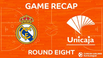 EuroLeague 2017-18 Highlights Regular Season Round 8 video: Madrid 89-57 Unicaja