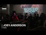 Joey Anderson 50 Minute Mix Boiler Room NY Deconstruct x The Corner Takeover