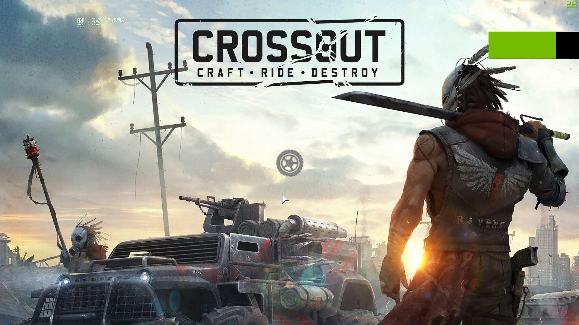 Crossout ( Twisted Metal pra PC) ???