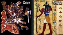 Dios Xolotl Azteca y Dios Anubis Egipcio, historias similares