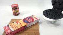 Kelloggs Pop Tart Maker - PB&J, Cookies & Creme & Pizza Pop Tarts!