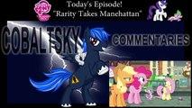 Blind Commentary | MLP:FIM | S4 E8 | Rarity Takes Manehattan