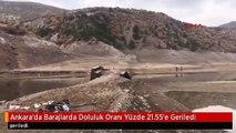 Ankara'da Barajlarda Doluluk Oranı Yüzde 21.55'e Geriledi