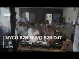 Nyco b2b Feivo b2b DJ7 Boiler Room Lyon DJ Set