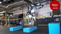 İnsansı robot son hünerlerini gösterdi