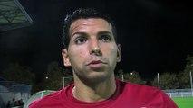 La réaction de quatre joueurs du FC martigues après la victoire à Tarbes