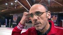 Le coach Gilles Derot et l'arrière gauche Théo derot donnent leur impressions d'après-match