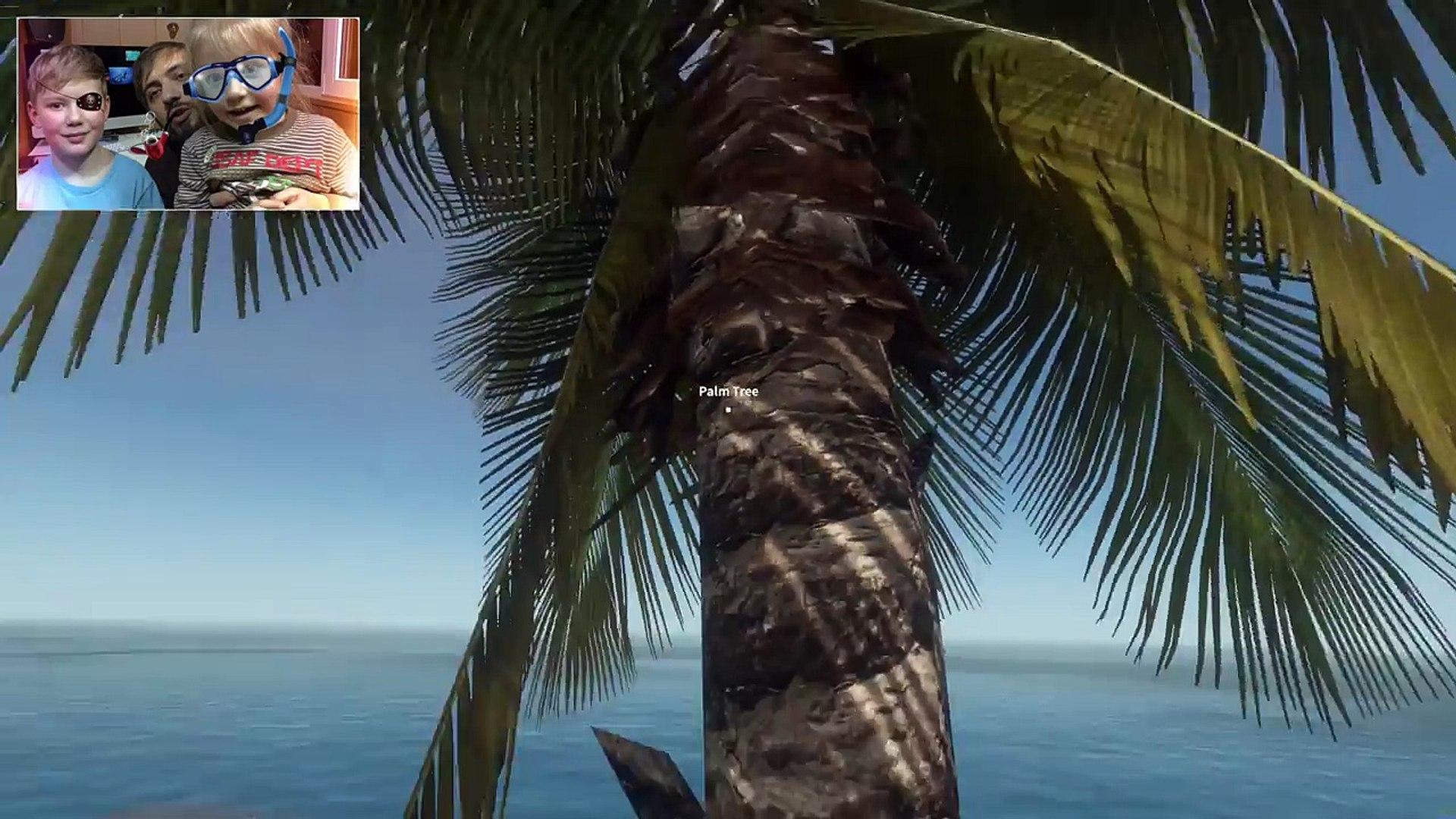 Выживаем в Stranded Deep. Часть 1 | Робинзон Крузо Мысля Геймится new HD