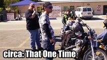 Harley Rider Helps Stranded Motorist - Harley Davidson Sportster Iron 883-ShLlqlfcbdk