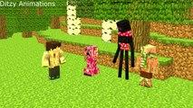 Monster School Minecraft Animation DANTDM, TheDiamondMinecart Funniest Minecraft Animation