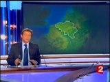 Lancement JT français manif belgique