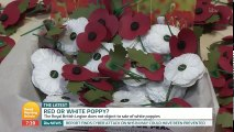 Leftists Criticize Red Poppies | Remembrance Day 2017 | White Peace Poppy Debate
