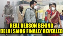 Delhi Smog : Dust storm from west Asia was the main culprit , not just stubble burning Oneindia News
