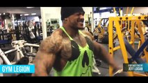 Jeff Logan Most Aesthetic Tattooed Beast in Fitness   Workout Motivation [720p]