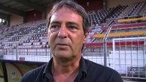 Les réactions de Thierry Erisson et Franck N'Dioro après la défaite face à Hyères