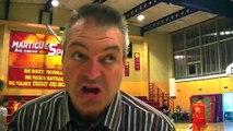 La réaction du nouveau coach du MSB après la défaite face à Bandol