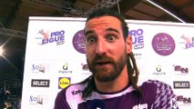 Benjamin Massot-Pellet, ailier-droit à Istres Provence Handball.