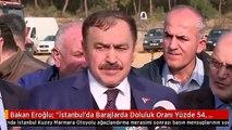 """Bakan Eroğlu: """"İstanbul'da Barajlarda Doluluk Oranı Yüzde 54, Herhangi Bir Problem Yok"""""""