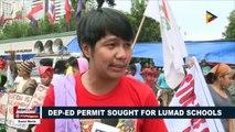 DepEd permit sought for Lumad schools