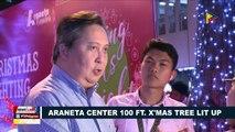 Araneta Center 100 ft. x'mas tree lit up