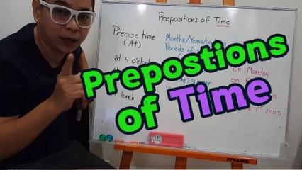 Prepositions of time ง๊ายง่าย แค่ 6 นาที   Grammar กระดานเดียว