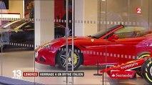 Londres : une grande exposition consacrée à la marque Ferrari vient d'ouvrir ses portes