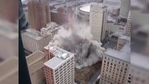 17 destructions impressionnantes de bâtiments par explosifs !