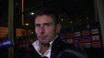 Olivier Giroud avance vitesse grand V avec Montpellier