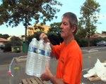 Coupure d'eau à Fos: la distribution de bouteilles bat son plein! L'eau rétablie partout.