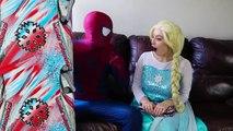 Frozen Elsa FROSTBITE w_ Spiderman Belle Maleficent Joker Challenge Toys Fun Superhero in real life | Superheroes | Spiderman | Superman | Frozen Elsa | Joker