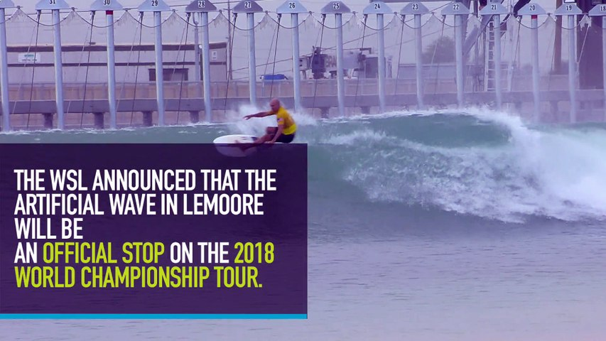 Kelly Slater's Surf Ranch Officially Added to the 2018 World Championship Tour