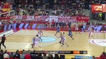 Η Απίστευτη no-look πάσα του Γιάνις Στρέλνιεκς στον Πρίντεζη - Ολυμπιακός vs Ερυθρός Αστέρας - 17.11.2017