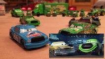 Mattel Disney Cars All Chick Hicks Variations (Dinoco, Star Wars Boba Fett, Lenticular) Die-casts