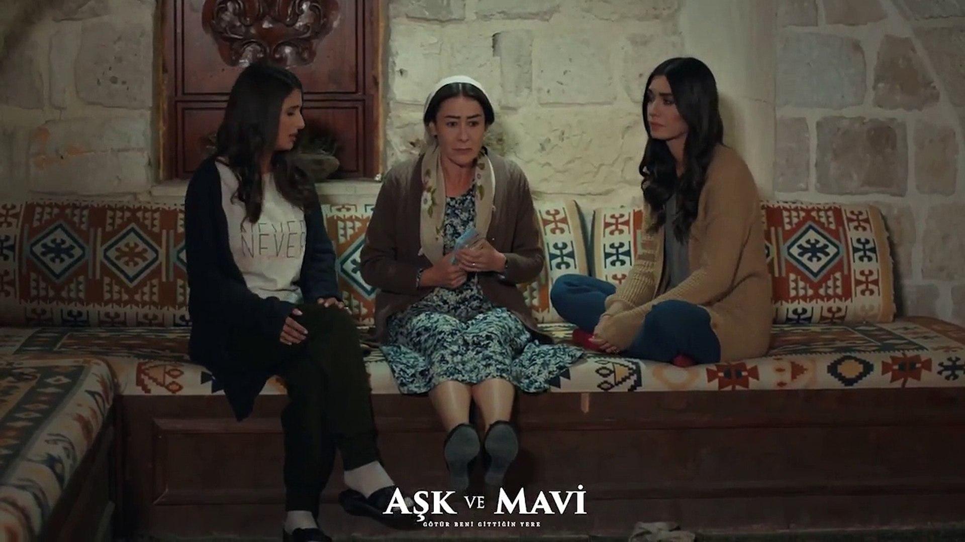 Aşk ve Mavi 41.Bölüm - Mavi, Ali'ye İsmet'in kumar oynadığını anlatıyor!