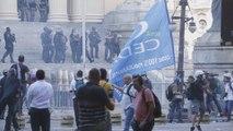 Protestas en Río generan enfrentamientos entre policías y manifestantes