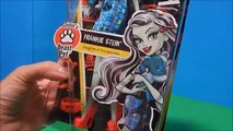 Monster High Beast Pets Draculaura & Frankie Stein Dolls Unboxing Playset Toy Review