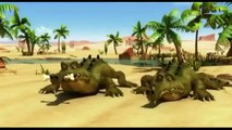 Oscars Oasis new - Oscars Oasis Cartoon - Fight With Crocodile