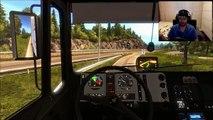 Euro Truck Simulator 2 Scandinavi Tour 16 MAN F2000 Logitech G27