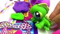 My Little Pony Twilight Sparkles Art Class Littlest Pet Shop Play Doh MLP Video Play