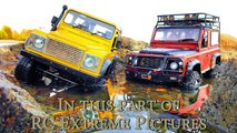 RC Truck Crawling in Water – Land Rover Defender 90 — RC Extreme Pictures-SjQ68gbGLUk