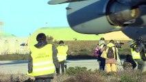 C17 canadien au décollage à Istres à l'occasion de l'opération Serval au Mali