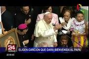 Eligen himno oficial que dará bienvenida al Papa Francisco