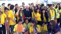 Michel Vauzelle a rencontré les lycéens hier