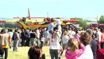 La ''démo'' aérienne des bombardiers d'eau dimanche aux Milles