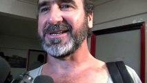 """Éric Cantona a rechaussé les crampons le temps d'une mi-temps """"rugby"""""""