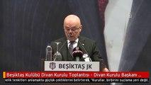Beşiktaş Kulübü Divan Kurulu Toplantısı - Divan Kurulu Başkanı Tevfik Yamantürk