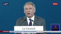 Conseil de La République en Marche: le discours de François Bayrou