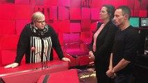 """Jade et Eric Dussart à Laurence Boccolini dans """"Le Maillon Faible"""""""
