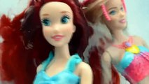 Elsya and Annya Kidnapped! Elsa and Anna Toddlers kidnapped by Ursula! Mermaid Ariel Dolls and Toys